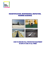 Guidance on Fall Safety Equipment Recertification, Maintenance & Inspection thumbnail