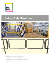 Kee Gate Safety Gates Brochure thumbnail