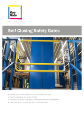 Kee Gate Self Closing Safety Gates thumbnail