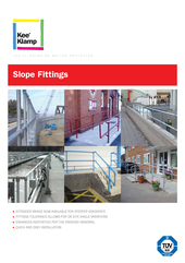 Kee Klamp Slope Fittings Brochures thumbnail