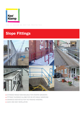 Kee Klamp Slope Fittings thumbnail