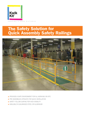 Kwik Kit Pre-Assembled Safety Railing Kits thumbnail